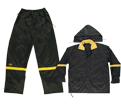Rain Suit - Nylon - Black / R103 *CLC