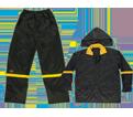 Rain Suit - Nylon - Black / R103 *CLC