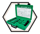 7-Piece E-Z Bore® Conduit and Pipe Bit Kit