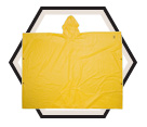 Poncho - Yellow - 1 Piece - PVC / R10410