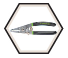 10 to 18 AWG - Crimping & Stripping Wire Cutter