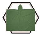 Poncho - Green - 1 Piece - PVC / R10420
