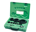19-Piece Industrial Maintenance Bi-Metal Hole Saw Kit