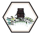21-Piece Journeyman Electrician's Tool Kit