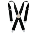 Suspenders - Black - Stretch Fabric / SP17BL