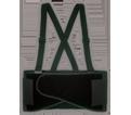 Back Support Belt - Black - Elastic Poly Fabric / EL892