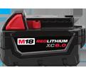 Battery - 6.0 Ah - 18V Li-Ion / 48-11-1860 *REDLITHIUM™