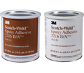 Adhesive - 2 Part Epoxy - Grey - Can / 2216 Series *SCOTCH-WELD