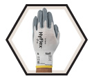 Palm Coated Gloves - Cut Level 2 - Nylon / Ansell HyFlex