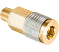 Coupler - Male Pipe - Brass / QDUNIAC4 Series *UNIVERSAL