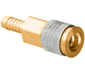 Coupler - Barbed - Brass / QDUNIAC4 Series *UNIVERSAL