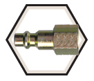 Interchange Nipple - Female Pipe / ARO 210 Series