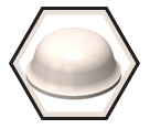 Bumper - Rubber - Round - Round Top / SJ5003 *BUMPON