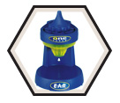 Ear Plug Dispenser - Plastic - Funnel System / 391-1000 *ONE TOUCH