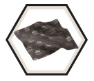 Lens Cleaning Cloth - Microfiber - Black / 3216 *SKULLERZ