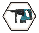 "Rotary Hammer (Kit) - 6.2 lbs - 15/16"" SDS Plus® - 18V Li-Ion / DHR243Z"