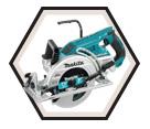 """Circular Saw (Tool Only) - 7-1/4"""" - 36V Li-Ion / DRS780Z *X2"""