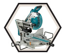 "Sliding Compound Miter Saw (Tool Only) ADT™ - 10"" - 2x18V Li-Ion / DLS110Z"