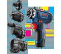 Drill/Driver (Kit) MAX - Flexiclick® Chuck - 12V Li-Ion / GSR12V-140FC