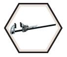 Bench Clamp - Metal-Jaw / MWB Series