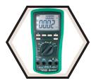 99.9V - 10A - AC/DC True RMS Digital Multimeter