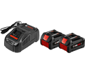 Battery Starter Kit - 6.3 Ah - 18 V Li-Ion / GXS18V-02N24 *CORE18V