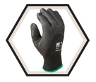Palm Coated Gloves - Cut Level 1 - Nitrile / 4545 *ZORB-IT