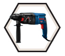 "Rotary Hammer (Tool Only) - 1"" - SDS-Plus - 8.0 amps / GBH2-26 *BULLDOG"