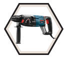 "Rotary Hammer (Kit) - 6.9 lbs - 1-1/8"" SDS-Plus® - 8.5 amps / GBH2-28L *BULLDOG™"