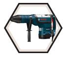"Rotary Hammer (Kit) - 26.2 lbs - 2"" SDS-MAX® - 15.0 amps / RH1255VC"