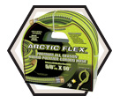 "Water Hose - 5/8"" - Black & Green - Hybrid Polymer / K-58GH Series *ARCTIC FLEX"
