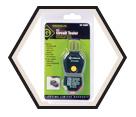 120V AC - GFI / GFCI Circuit Tester