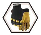 High Performance Gloves - Unlined - Full Grain Goatskin / Flextime