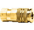 Coupler - Female Pipe - Brass / QD-INDAC Series