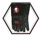 Welding Gloves - Unlined - Full Grain Goatskin / Ol' Lady