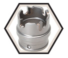 "1"" - Quick Change Carbide Hole Cutter"
