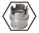 "1"" - Quick Change Carbide Hole Cutter"