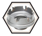 "1-1/2"" - Quick Change Carbide Hole Cutter"