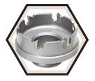 "1-1/2"" - Quick Change Carbide Hole Cutter"