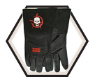 Welding Gloves - Unlined - Full Grain Goatskin / Hot Rod