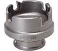 "1-3/8"" - Quick Change Carbide Hole Cutter"