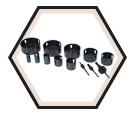 "1/2"" to 4"" Conduit - Bi-Metal Hole Saw Kit"