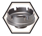 "2"" - Quick Change Carbide Hole Cutter"