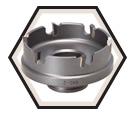 "2"" - Quick Change Carbide Hole Cutter"