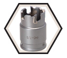 "7/8"" - Quick Change Carbide Hole Cutter"