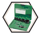 "3/4"" to 2-1/4"" - Plumber's Bi-Metal Hole Saw Kit"