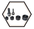 "1/2"" to 1-1/4"" Conduit - Standard Round Knockout Kit"