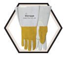 Welding Gloves - Unlined - Full Grain Goatskin / Ram Tough