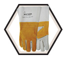 Welding Gloves - Lined - Split Cowhide / Cow Town