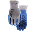 Palm Coated Gloves - Unlined - Poly/Cotton / 320 *BLUE CHIP